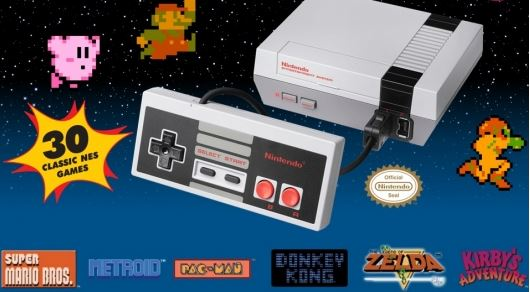 list of games on the mini NES